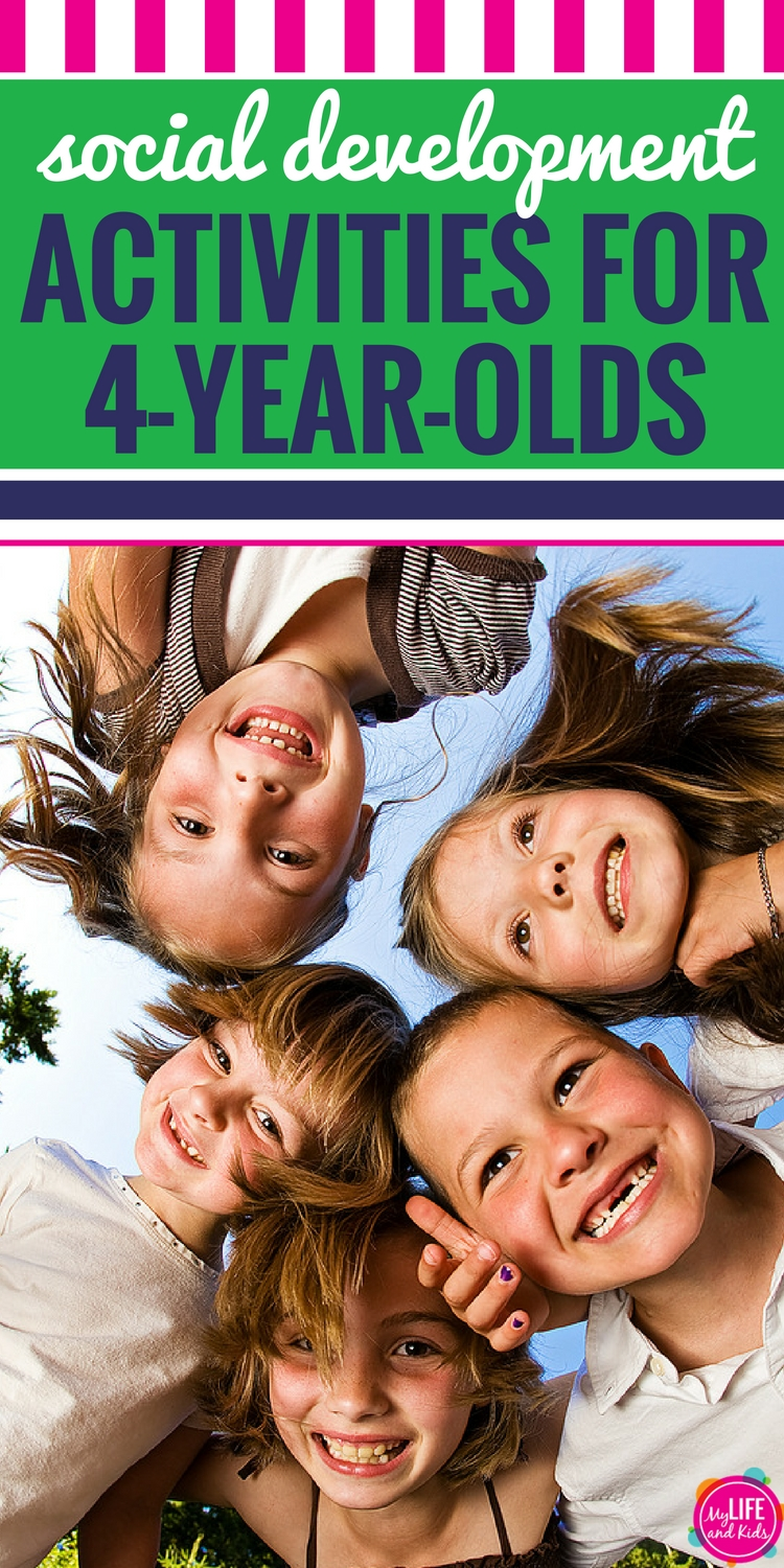 Social Development Activities For Four Year Olds
