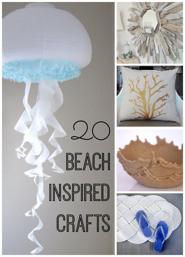 beach inspired crafts