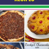 15 Crockpot Dessert Recipes. After dinner (or ANY meal) who doesn't love a sweet treat? Have dessert at the ready with these make ahead ideas (even some that are healthy).