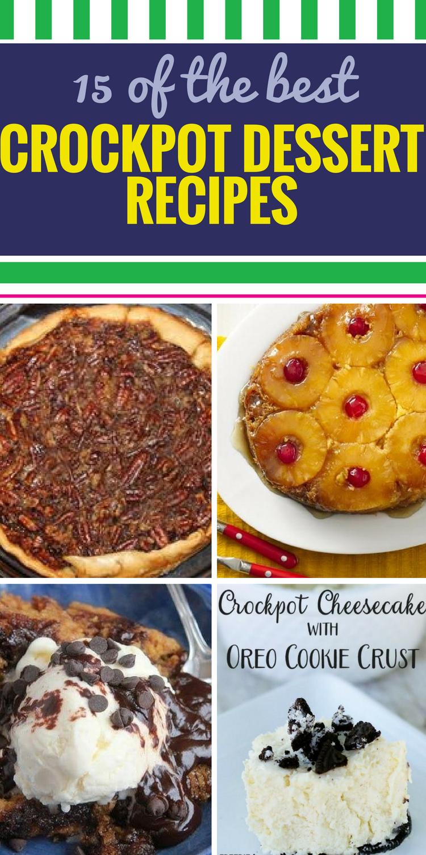 15 Crockpot Dessert Recipes My Life And Kids