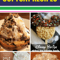 15 Copycat Disney Recipes. Your family loves Disney for more than the attractions - they love the food. Toffee cake and other yummy desserts, Dole whips, apple pie caramel apples and even loaded baked potato soup. You can bring these recipes home, even if you couldn't bring home all the gifts from the souvenir shops.