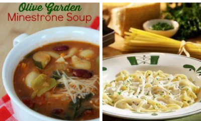 15 Copycat Olive Garden Recipes. Olive Garden is known for its soup and salad, and for good reason. Get the best copycat Olive Garden recipes here, including healthy chicken entrees, pasta and vegetarian options - make a lot because you'll want the refills to be endless just like they are at Olive Garden.