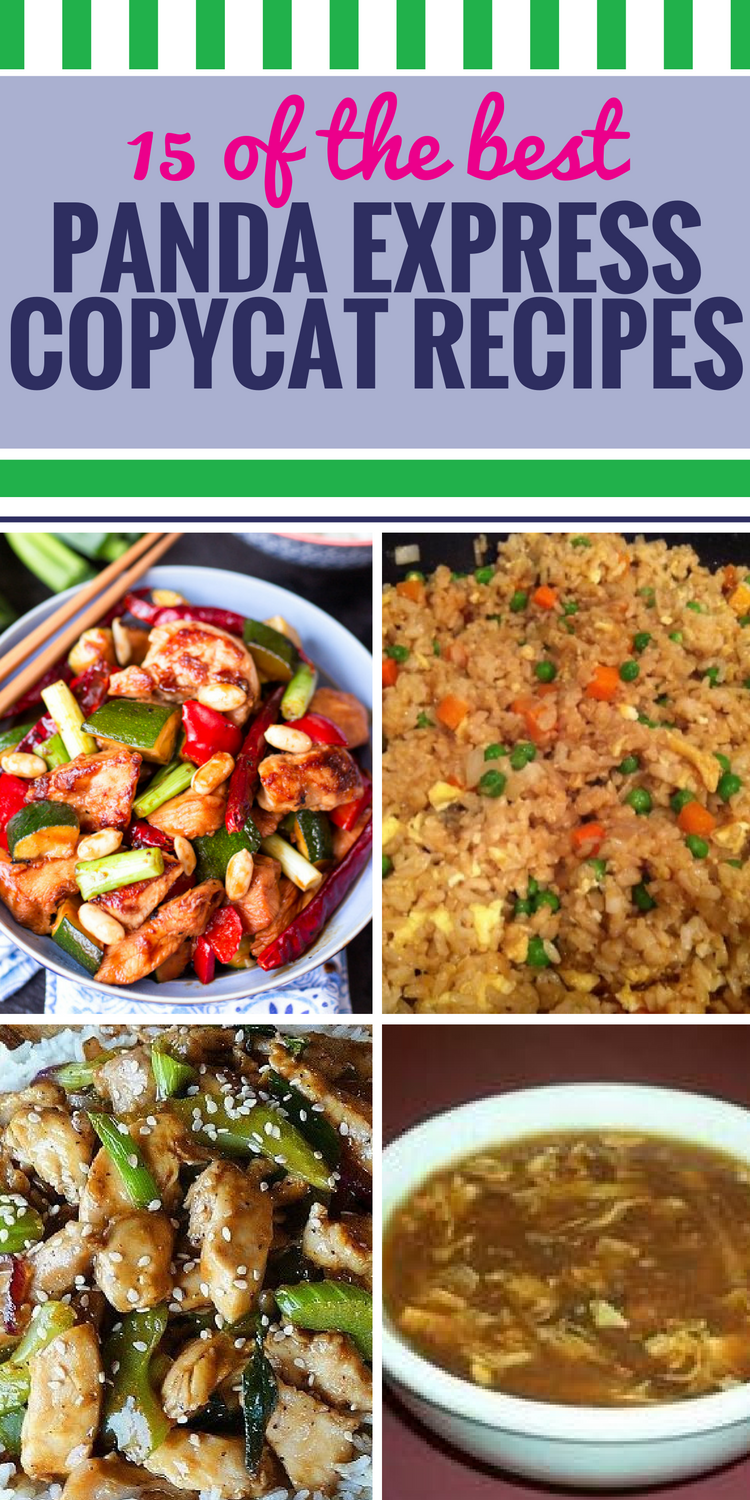 15 Copycat Panda Express Recipes. If your family loves Panda Express as much as mine does, they'll really love enjoying it at home. These American Chinese recipes are sure to be a hit - just wait until you taste the delicious sauce on the orange chicken.
