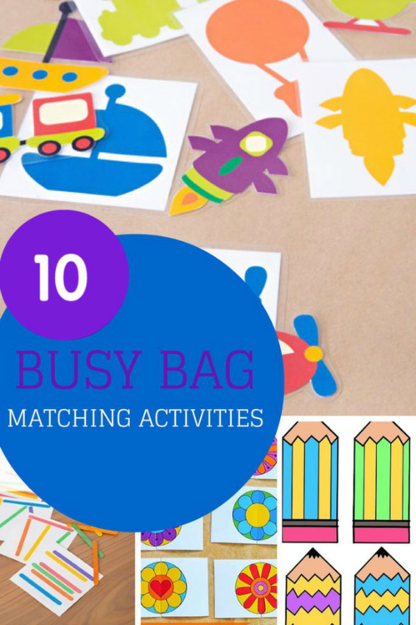 10 Busy Bags for Matching Activities