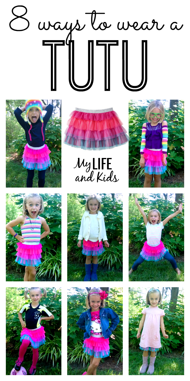 8 Ways To Wear A Tutu My Life And Kids
