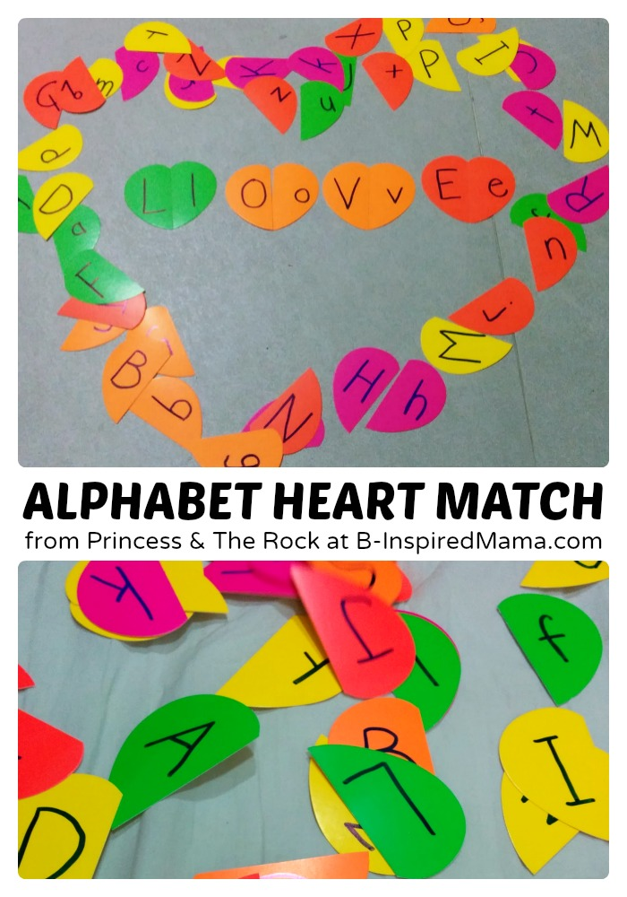 Alphabet Heart Match
