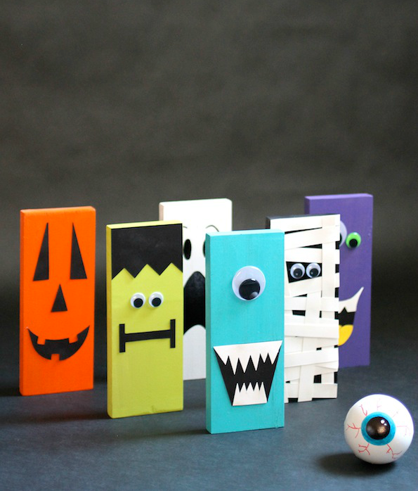 30 awesome halloween games for kids diy halloween bowling set 1 solutioingenieria Images