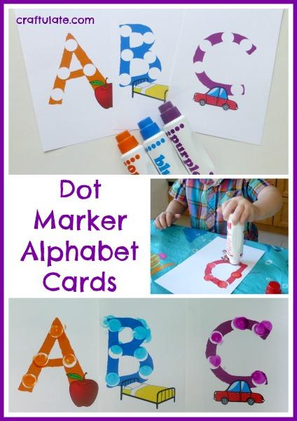 Dot Marker Alphabet Cards