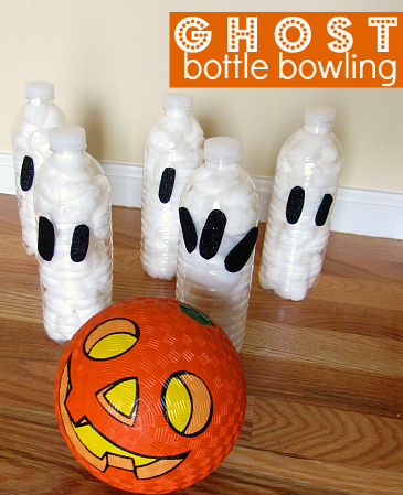 Ghost Bottle Bowling