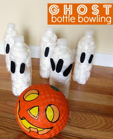 Ghost Bottle Bowling