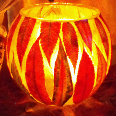 Luminous Leaf Lanterns