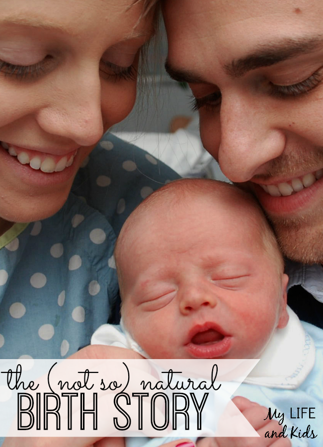 The (Not So) Natural Birth Story was written as part of the Share Your Story event hosted by Kids in the House.