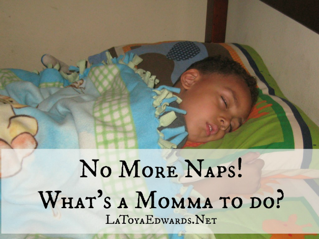 What To Do When Your Child Gives Up Naps