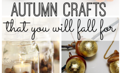 10 DIY Autumn crafts that you will fall for. Fall is such a great season, and one of my favorite activities is updating my decor with all things autumn - while sipping warm apple cider (of course.) These are some of my favorite DIY autumn crafts.