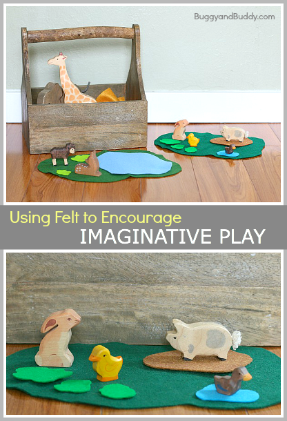 Using Felt to Encourage Imaginative Play