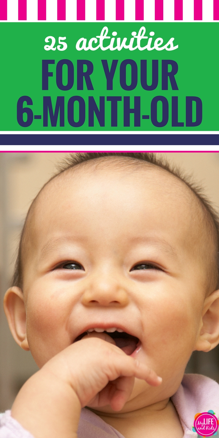 You don't need a lot of products or things to have loads of fun with your 6 month old. These fun games and activities will keep you and your 6 month old entertained for hours.