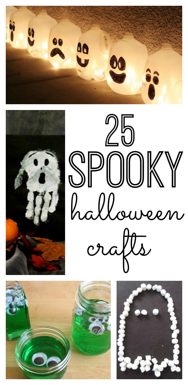 25 Spooky Halloween Crafts