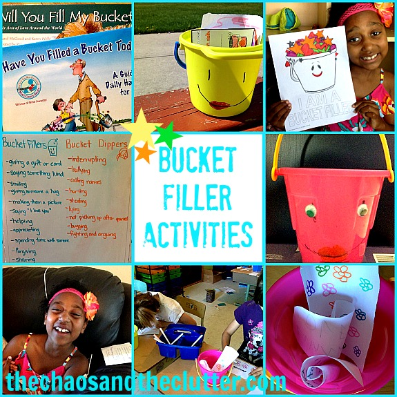 Bucket Filler Activities