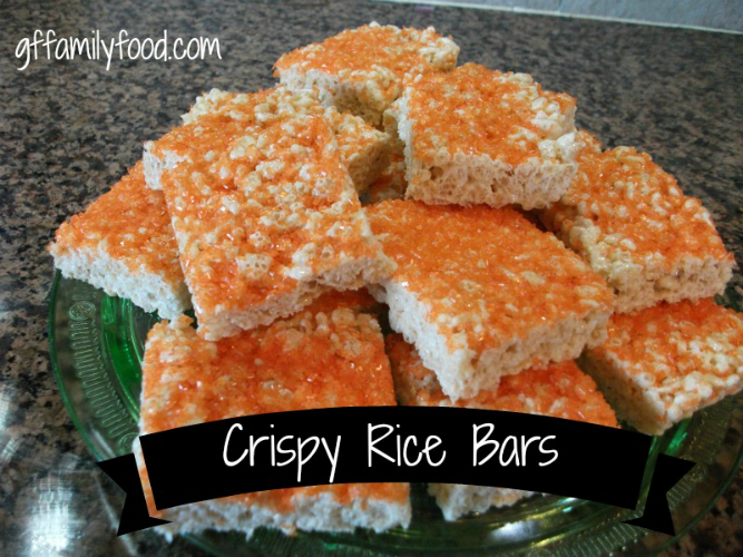 Crispy Rice Bars