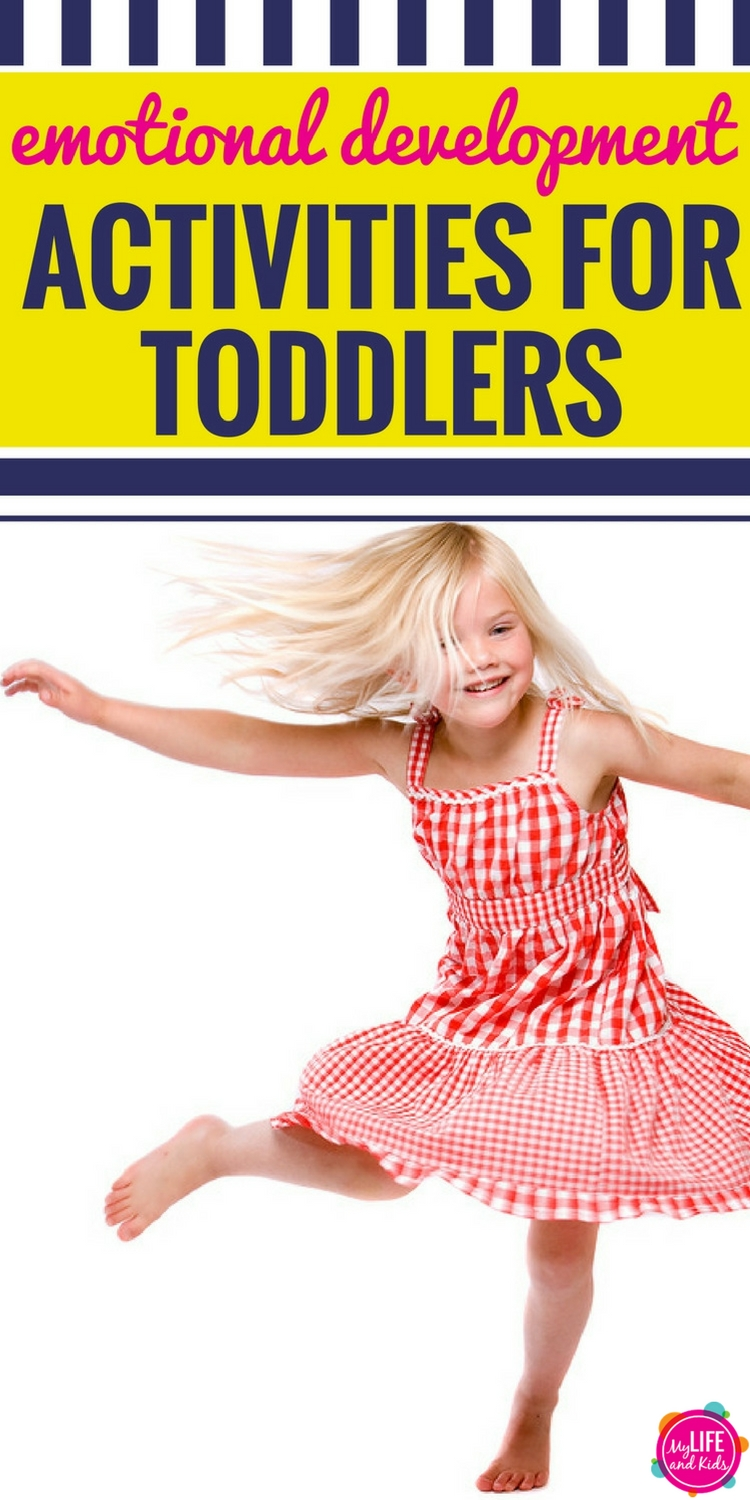 Emotional Development Activities for Toddlers PIN