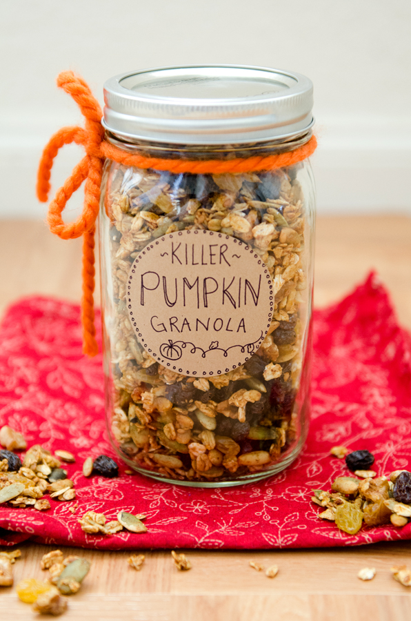 Killer Pumpkin Granola
