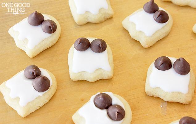 Lil' Ghosty Guys Sugar Cookies