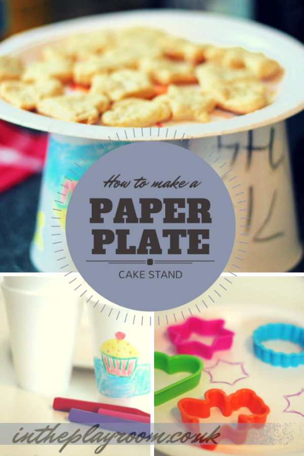 Paper Plate Cake Stand