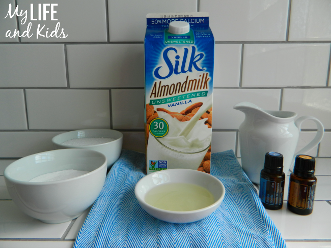 Use simple, on-hand ingredients to create a relaxing and body-nourishing almond milk bath.