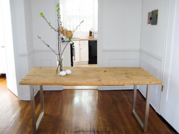 Build Your Own Dining Table - My Life and Kids