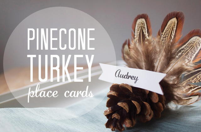 Dress up your table with fun DIY place cards perfect for the season.