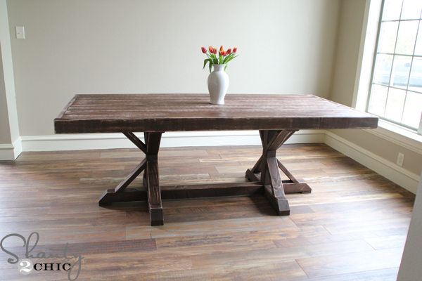 Make your dining table a conversation piece by building it yourself ...