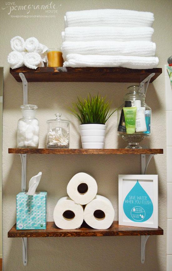 Easy DIY Bathroom Updates - My Life and Kids