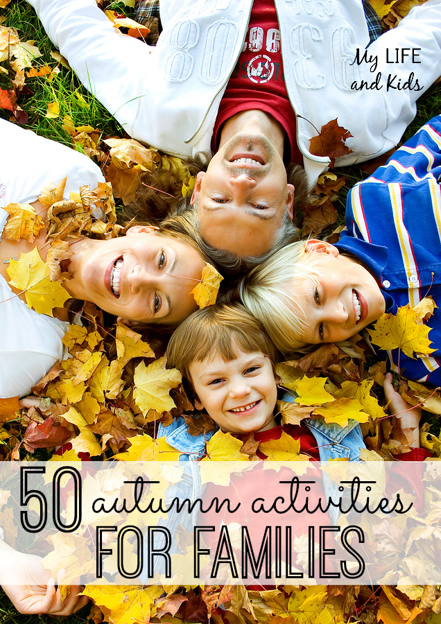 Savor all that fall has to offer with these 50 autumn activities for families!