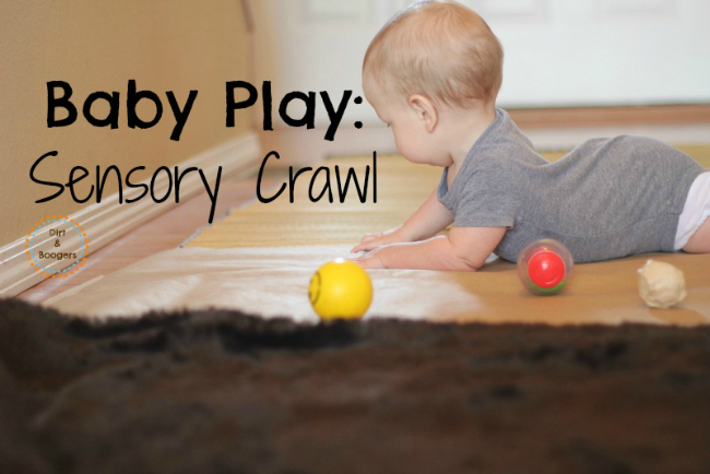 Baby Play Sensory Crawl