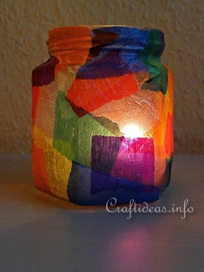 Colorful Votive