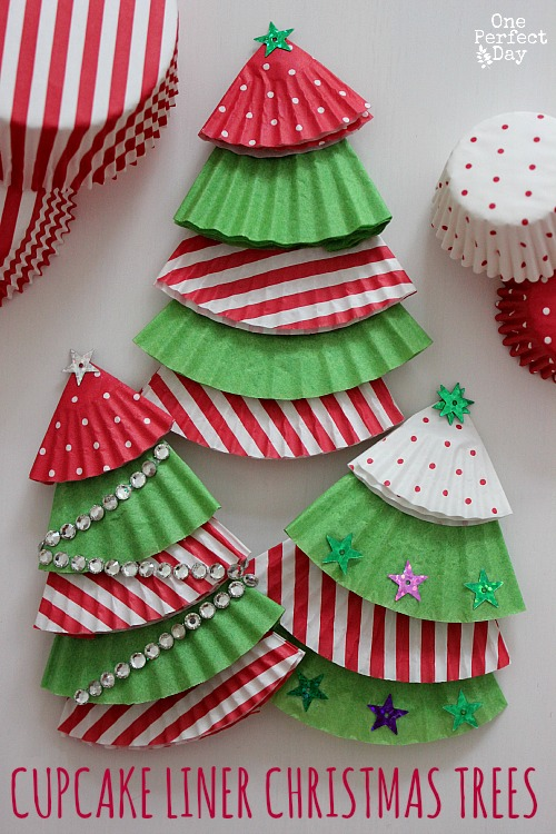Christmas Decorations Using Paper Plates