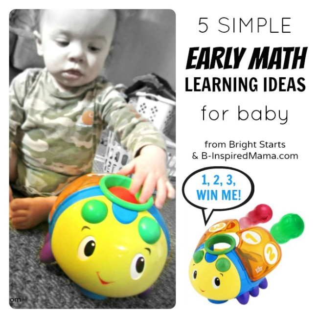 Early Math Ideas for Baby