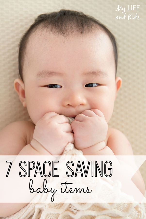 Baby gear doesn't have to take over your home! We have rounded up essential space saving baby gear - I have #4 and love it!