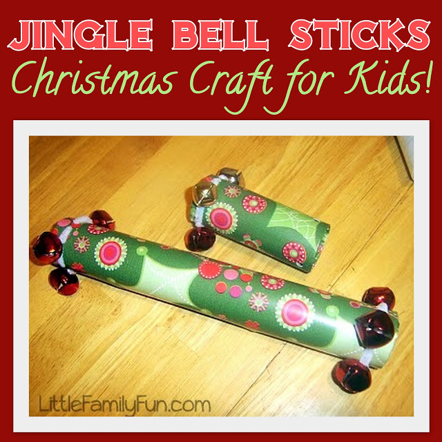 Jingle Bell Sticks