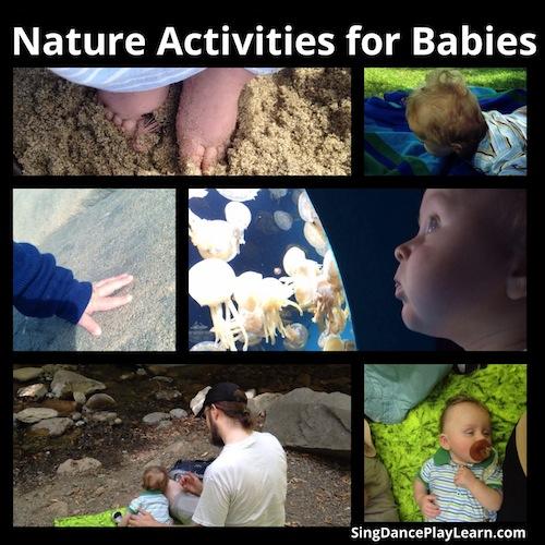Nature Activities for Babies