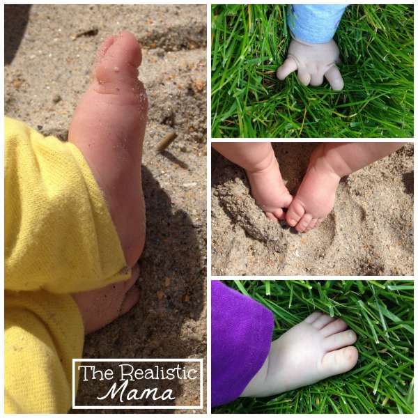 Outdoor Sensory Play for Babies