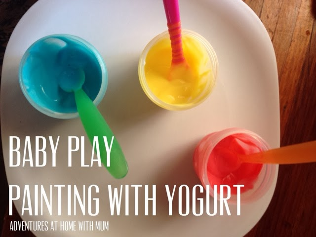 Painting with Yogurt