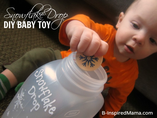 Snowflake Drop DIY Baby Toy