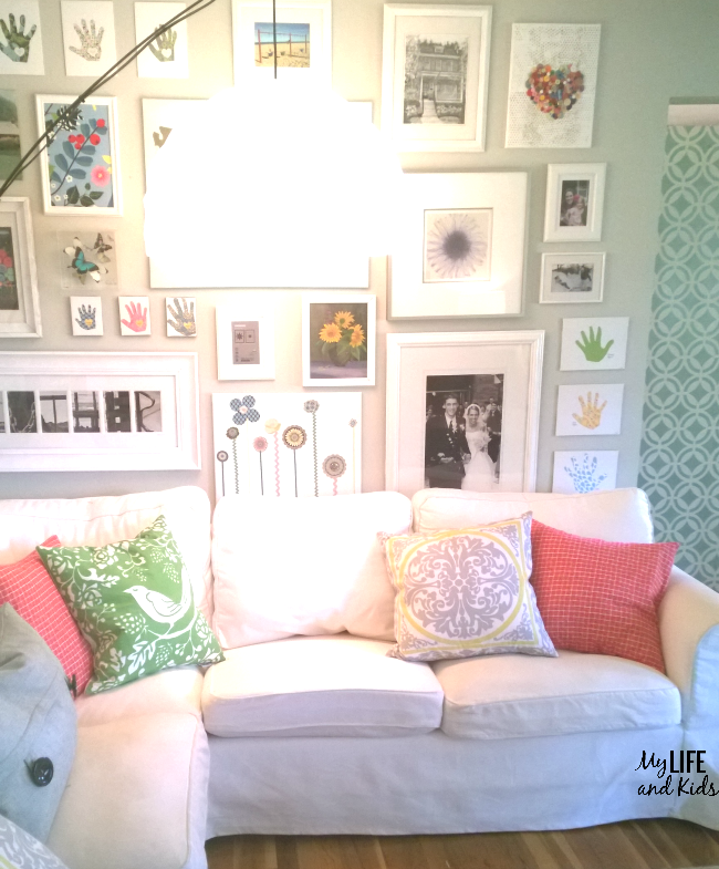 How to keep your white slipcovered Sofa pretty & clean with kids & pets.  Have - Why I'm Brave Enough To Own A White Couch AND Have Little Kids