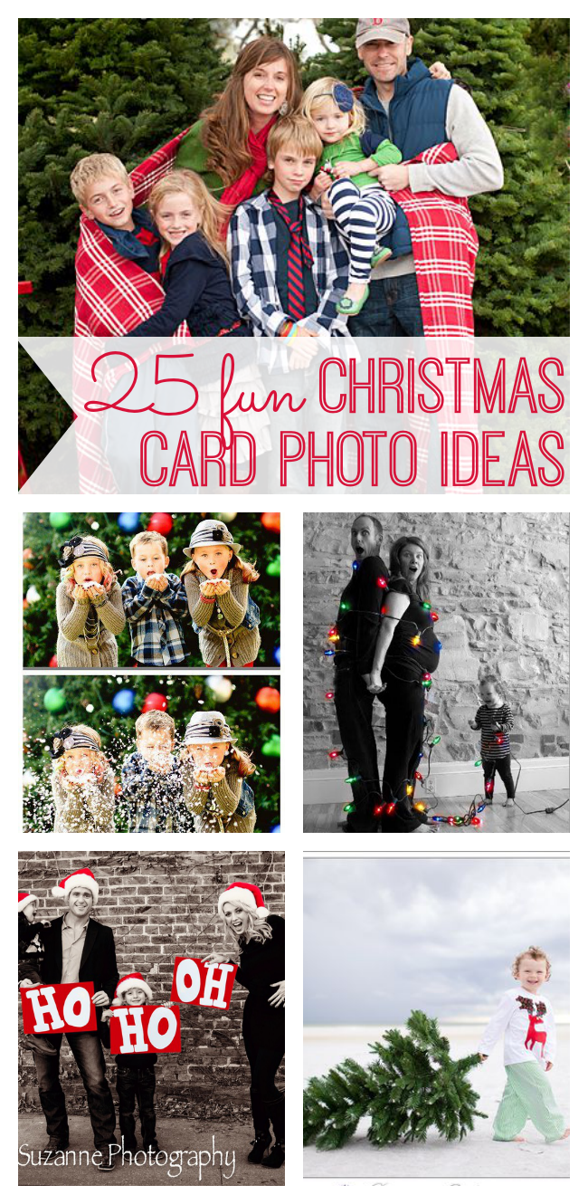 Christmas card photo ideas  including great outfit ideas for family