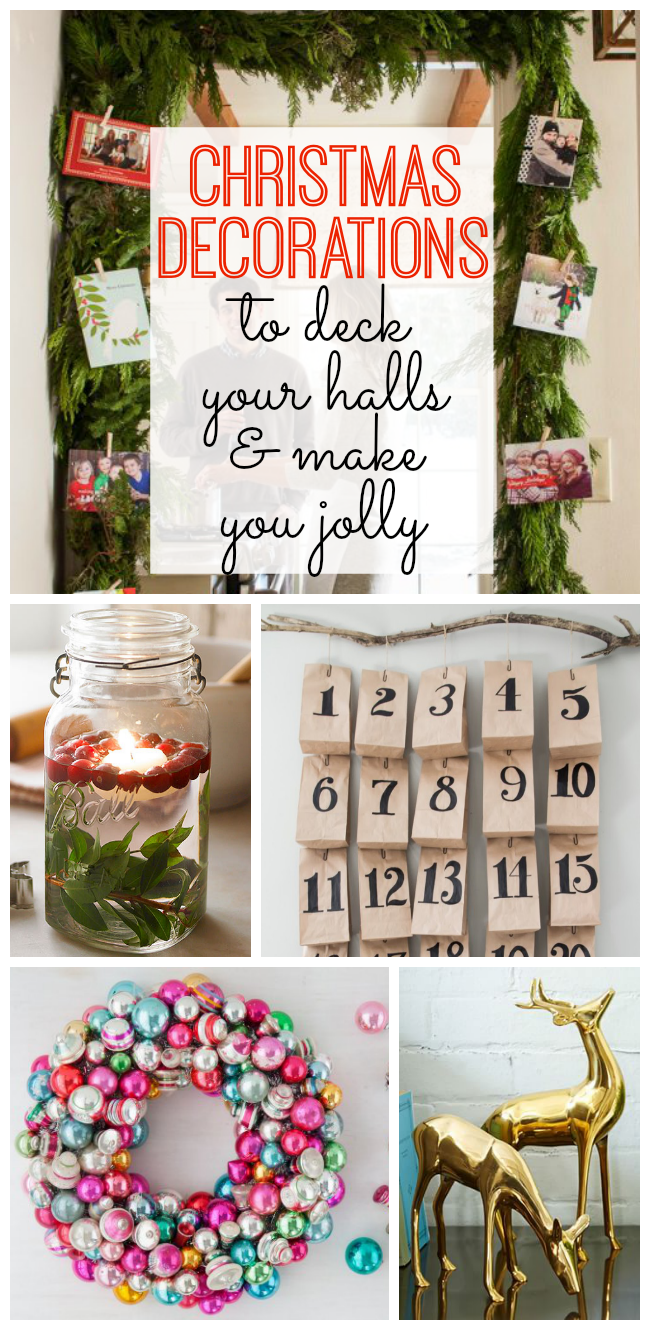 DIY Christmas Decorations To Deck Your Halls - My Life and Kids