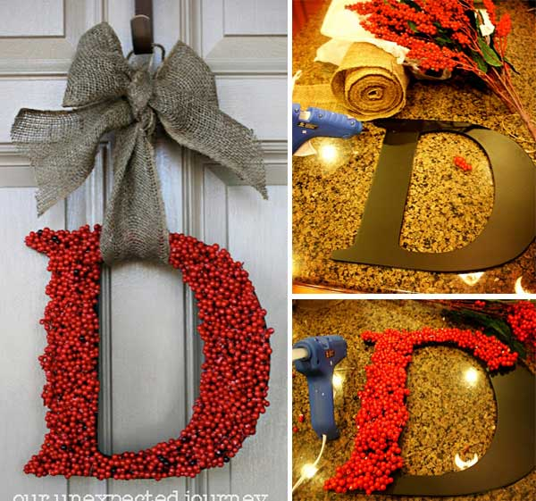 Brighten your home for the holidays with these beautiful DIY Christmas decorations. Such a great idea for giving gifts of  holiday decor, making Christmas crafts and decorating for your big Christmas party. Merry Christmas.