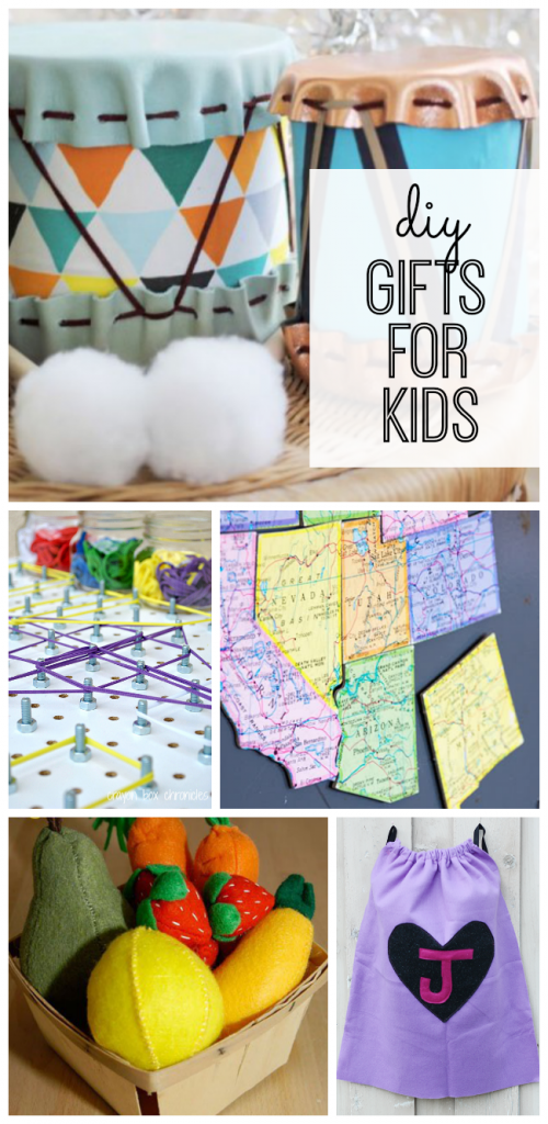 Handmade gift ideas that kids will love! These DIY gifts are perfect for Christmas and birthdays.