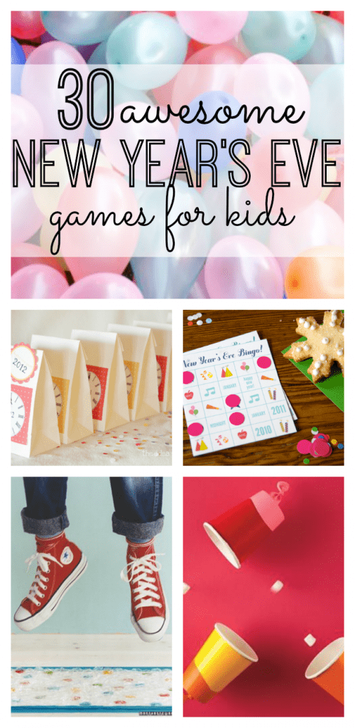 If you're planning on spending New Year's Eve as a family this year, we've got your covered! Enjoy these 30 Awesome New Year's Eve Games for the family - #3 is my favorite!