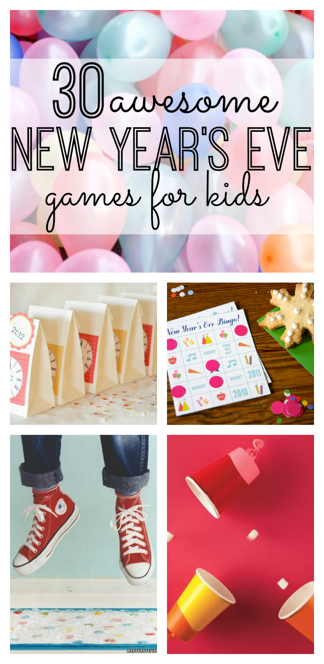 30 Awesome New Year's Eve Games for Kids